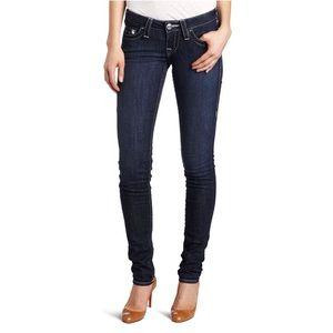 True Religion Stella Low Rise Skinny Jean